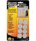 Mighty Movers Self-Stick Furniture Sliders 1\u0022 Round