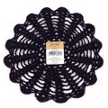 Fab Lab 9\u0022 Doily-Black