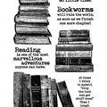 Darkroom Door 7\u0027\u0027x5\u0027\u0027 Cling Rubber Stamp-Bookworm
