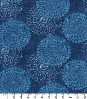Ellen DeGeneres Upholstery Fabric 54''-Indigo Pasadena