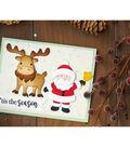 Elizabeth Craft Designs Christmas 11 pk Metal Dies-Santa Claus