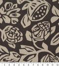 Robert Allen @ Home Print Swatch 55\u0022-Cutwork Flora Truffle
