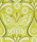 Waverly Print Fabric-Ipanema/Citron