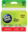 Glue Dots Clear Adhesives School Value Pack Craft