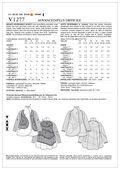 Vogue Patterns Misses Outerwear-V1277