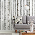 York Wallcoverings Wall Decals-Realistic Birch Trees