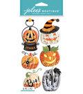 Jolee\u0027s Boutique Dimensional Stickers-Pumpkin Snow Globes