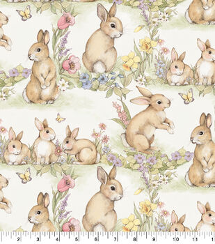 Easter Cotton Fabric-Easter Blessings