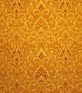 Home Decor 8\u0022x8\u0022 Fabric Swatch-Upholstery Fabric Barrow M7466 5230 Amber