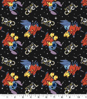"Disney Lilo and Stitch Cotton Fabric 43""-Beyond Cool"