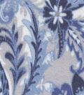 Anti-Pill Fleece Fabric 59\u0022-Large Floral