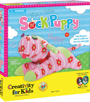 Faber Castell Sew Cute Sock Puppy, , hi-res