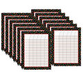 Dots on Black Incentive Chart, Pack of 12