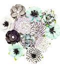 Prima Marketing Flirty Fleur Mulberry Paper Flowers 12/Pkg-Adoration