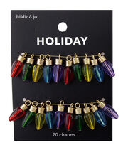 hildie & jo Holiday Charms-Multi Color Christmas Lights, , hi-res