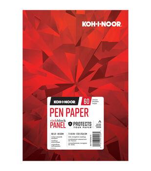 """KOH-I-NOOR 7""""x10"""" Pen Paper Pad-60 Sheets"""