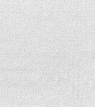 Valentine's Day Cotton Fabric-White Tiny Hearts