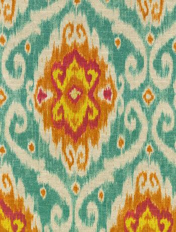 """IMAN Home Print Fabric 54""""-Ubud/Sunstone"""