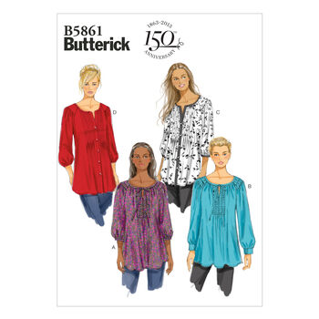 Butterick Women's Top-B5861