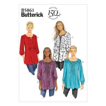 Butterick Women's Top-B5861