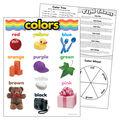 Colors Learning Chart 17\u0022x22\u0022 6pk
