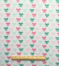 Doodles Juvenile Apparel Fabric 57\u0022-Bows Interlock