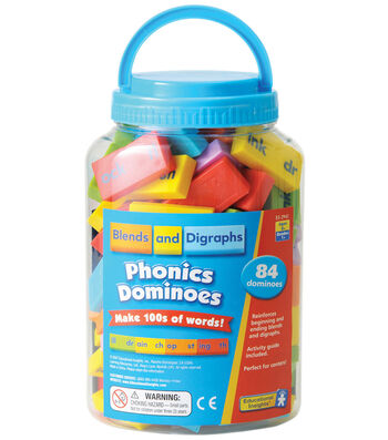 Blends and Digraphs Phonics Dominoes