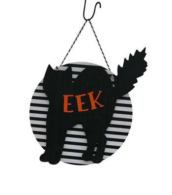 Maker's Halloween Cat Wall Decor-EEK