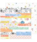 Simple & Sweet Double-Sided Cardstock 12\u0022X12\u0022-Happy Life