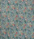 Home Decor 8\u0022x8\u0022 Fabric Swatch-Upholstery Fabric SMC Designs Taunt Aqua