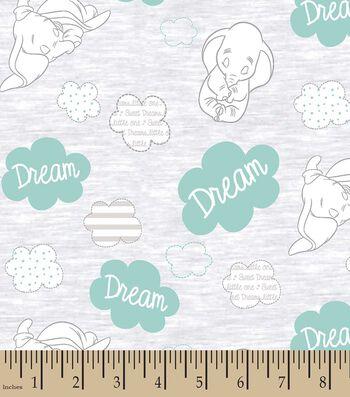 Disney Sweet Dreams Dumbo Print Fabric