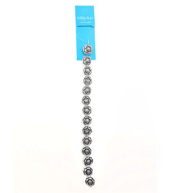hildie & jo Rose Metal Strung Beads