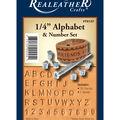 1/4\u0022 Alphabet and Number Stamp Set