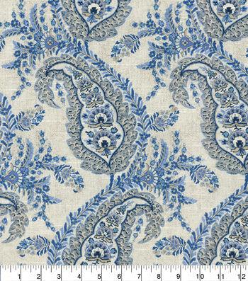 ED Ellen DeGeneres Upholstery Fabric 54''-Indigo La Brea
