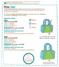 Kwik Sew Pattern K0235 Lined Bags with Two Inside Pockets