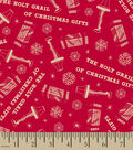 A Christmas Story Print Fabric -Red Leg Lamp