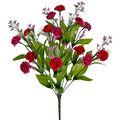 Fresh Picked Spring 18\u0027\u0027 Mum Bush-Purple & Red