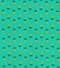 Tutti Fruitti Slice of Life Embellished Fabric 44\u0027\u0027-Pineapple
