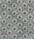 Vintage Cotton Fabric 43\u0022-Diamond Vines