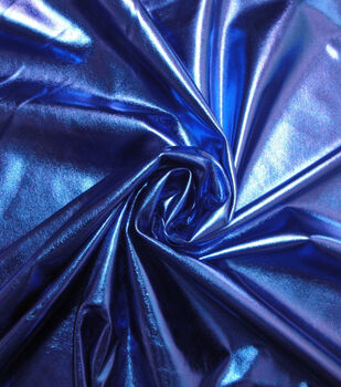 Cosplay by Yaya Han 4-Way Stretch Fabric -Metallic Cobalt