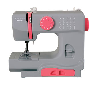 Janome Derby Portable Sewing Machine- Graceful Gray