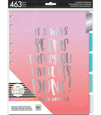 The Happy Planner Hourly Undated Big Planner Extension Pack