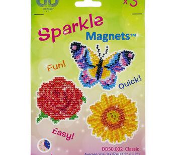 Diamond Dotz Diamond Magnets Facet Art Kit-Assorted Classic 3/Pkg