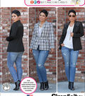 Simplicity Patterns Us1066H5-Simplicity Misses\u0027 Lined Jacket Mimi G Collection-6-8-10-12-14