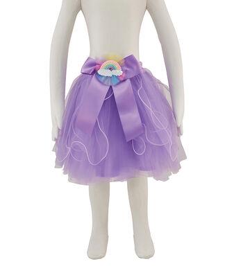Maker's Halloween Child Cascade Tutu-Purple