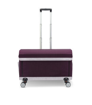Cricut Rolling Craft Tote-Purple