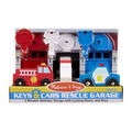 Keys And Cars Rescue Garage-