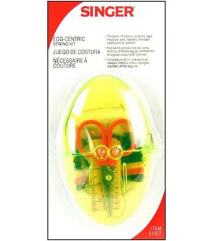 Singer Egg-Centric Sewing Kit-Assorted Colors