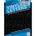 Duro Decal 160 pk 3\u0027\u0027 Permanent Adhesive Vinyl Letters & Numbers-Black