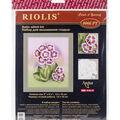 RIOLIS Create it Yourself 5\u0027\u0027x6.25\u0027\u0027 Satin Stitch Kit-Primroses